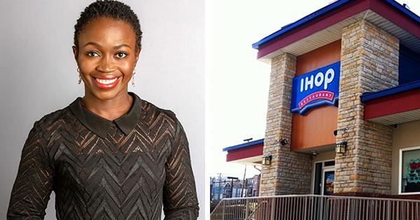 Adenah Bayoh, owner of three IHOP restaurants in New Jersey
