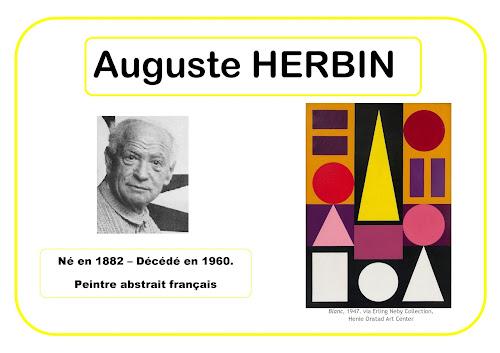 Auguste Herbin - Portrait d'artiste selon Barbara