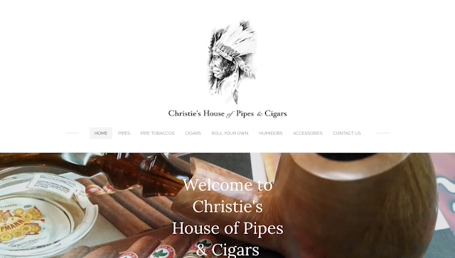 Waynesboro PA web design for Christie's House of Pipes & Cigars