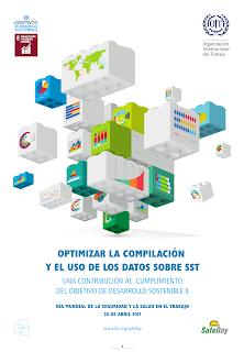 Afiche, carte,  Dia Mundial de la Seguridad y Salud en el Trabajo 2017
