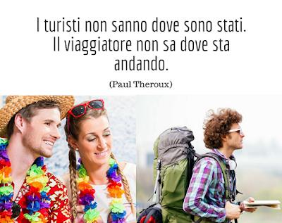 turista vs viaggiatore