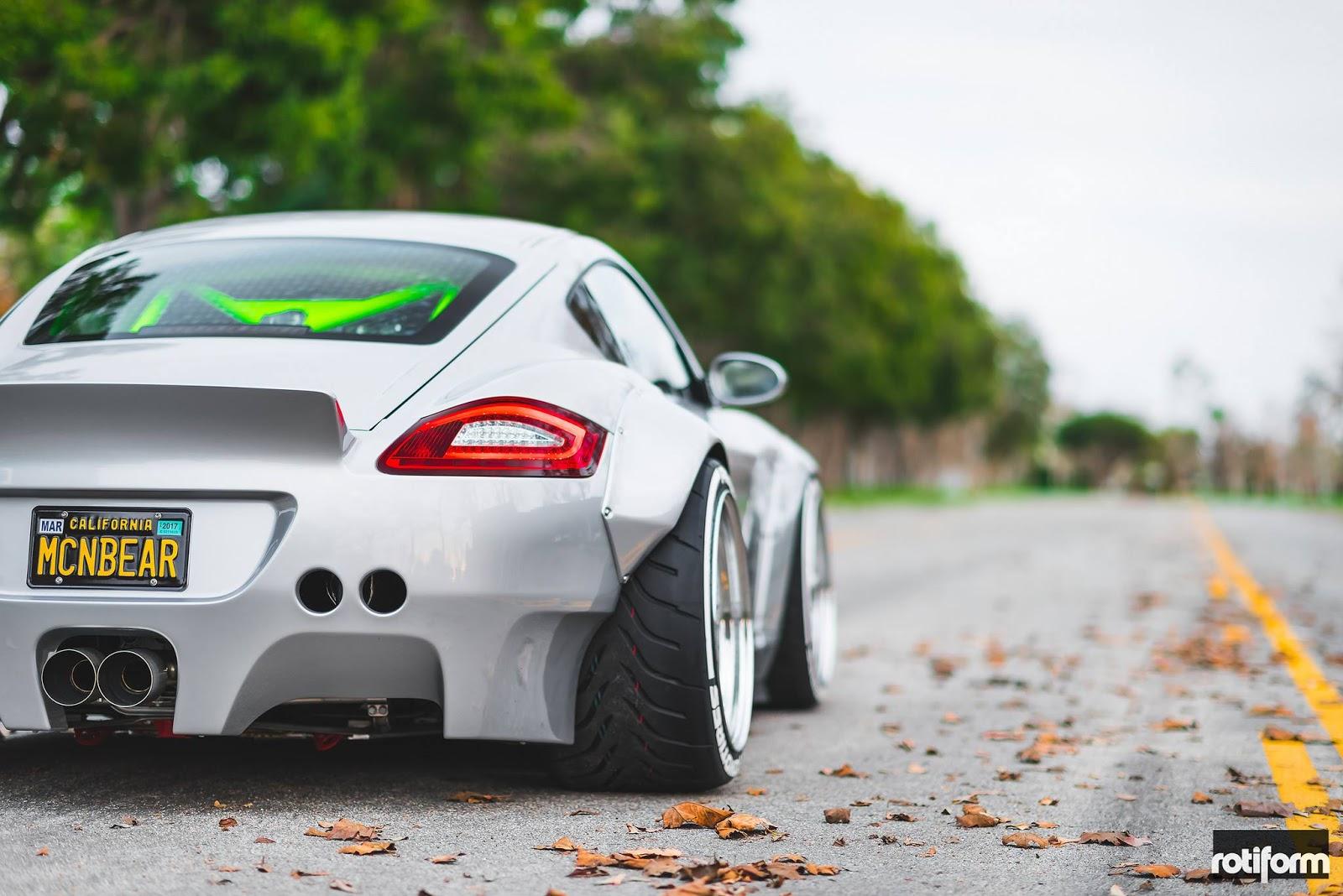 Custom Porsche Cayman Stuns With Its Ott Widebody Kit