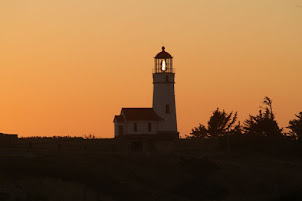 Cape Blanco at Sunset
