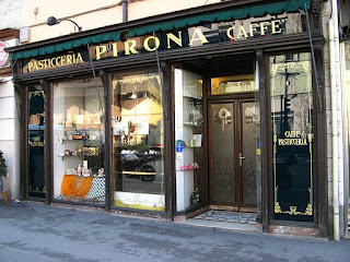 The Caffé Pirona was a favourite of James Joyce