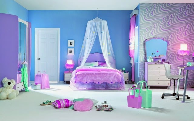 Purple Blue Bedroom Ideas Savae Org