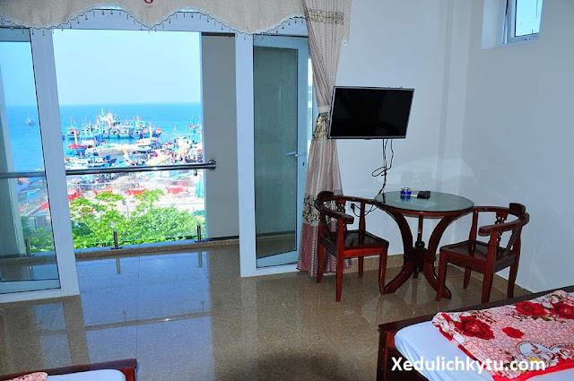 Phòng nghỉ Đại Dương hướng nhìn ra biển