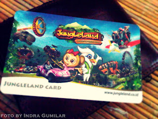 jungle land card