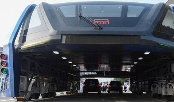 Akhirnya selepas beberapa tahun menunggu apa yang menjadi impian telah pun menjadi realiti apabila 'bas masa depan' China telah mendapat perhatian