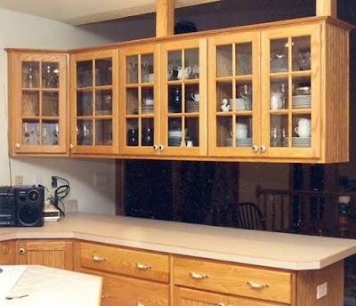 Jenis Lemari Untuk Interior Kitchen Set Dapur