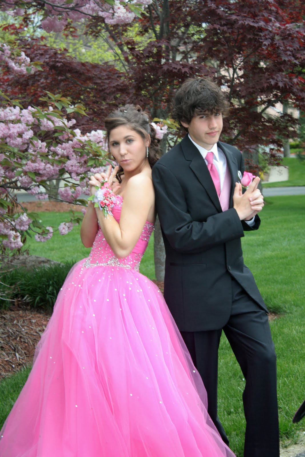 Leigh and Abram's Clan: Junior prom