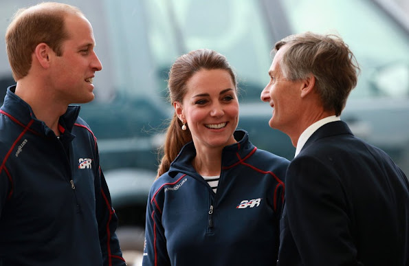 Catherine, Duchess of Cambridge and Prince William, Duke of Cambridge attend the America's Cup World Series