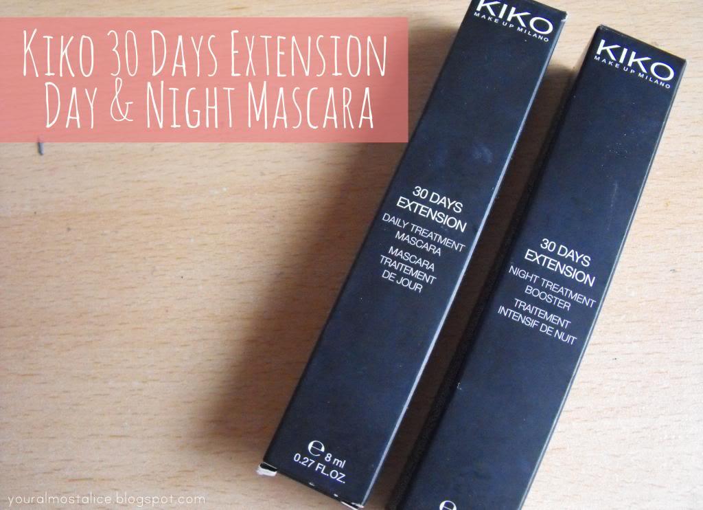 Kiko 30 Days Extension Day & Night Lash Treatment Mascaras