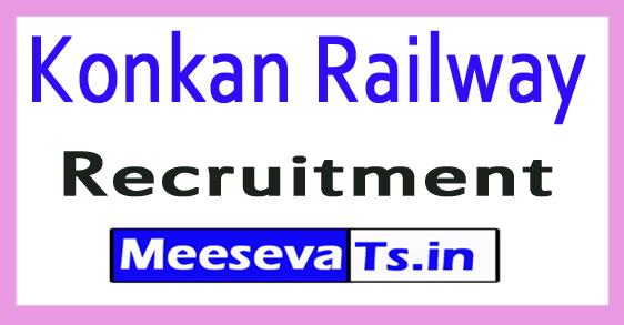 Konkan Railway KRCL Recruitment