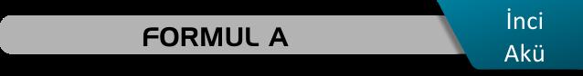 İnci akü Formul A serisi fiyatları