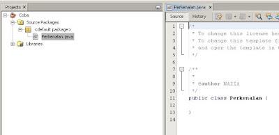 Halo - Pengenalan Program Java Simpel