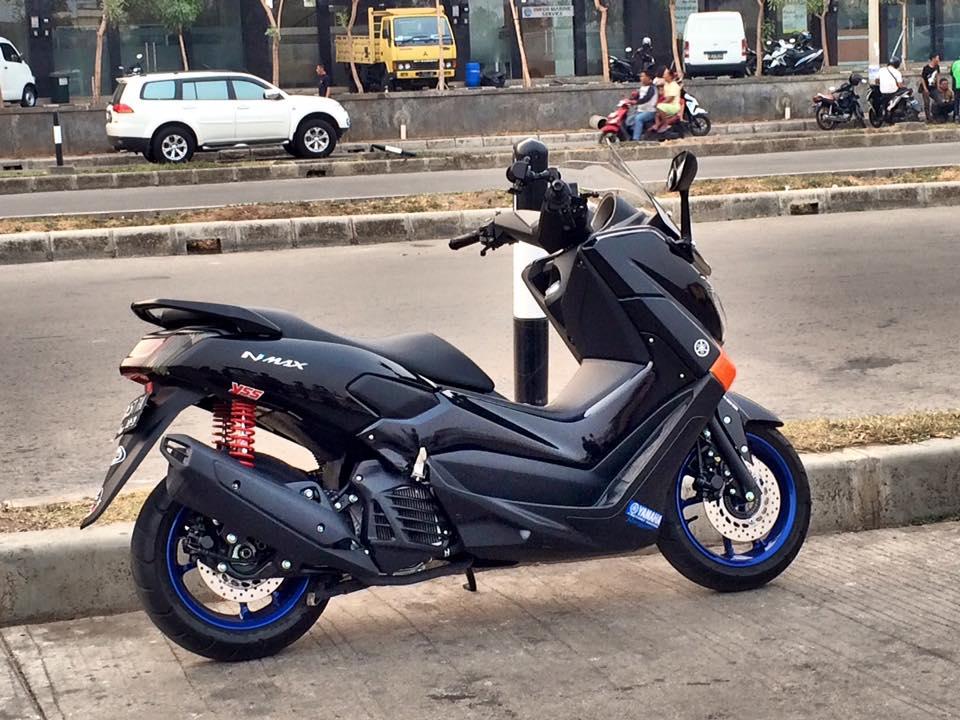 modifikasi motor yamaha nmax foto gambar42  terbaru