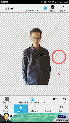 Cara Mengganti Background Foto Menggunakan Android
