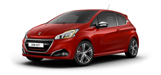 peugeot 208 gti restyl e 2016 couleurs colors. Black Bedroom Furniture Sets. Home Design Ideas