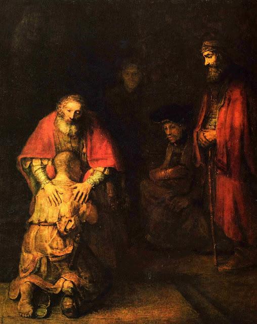 Tableau du Fils Prodigue de Rembrandt
