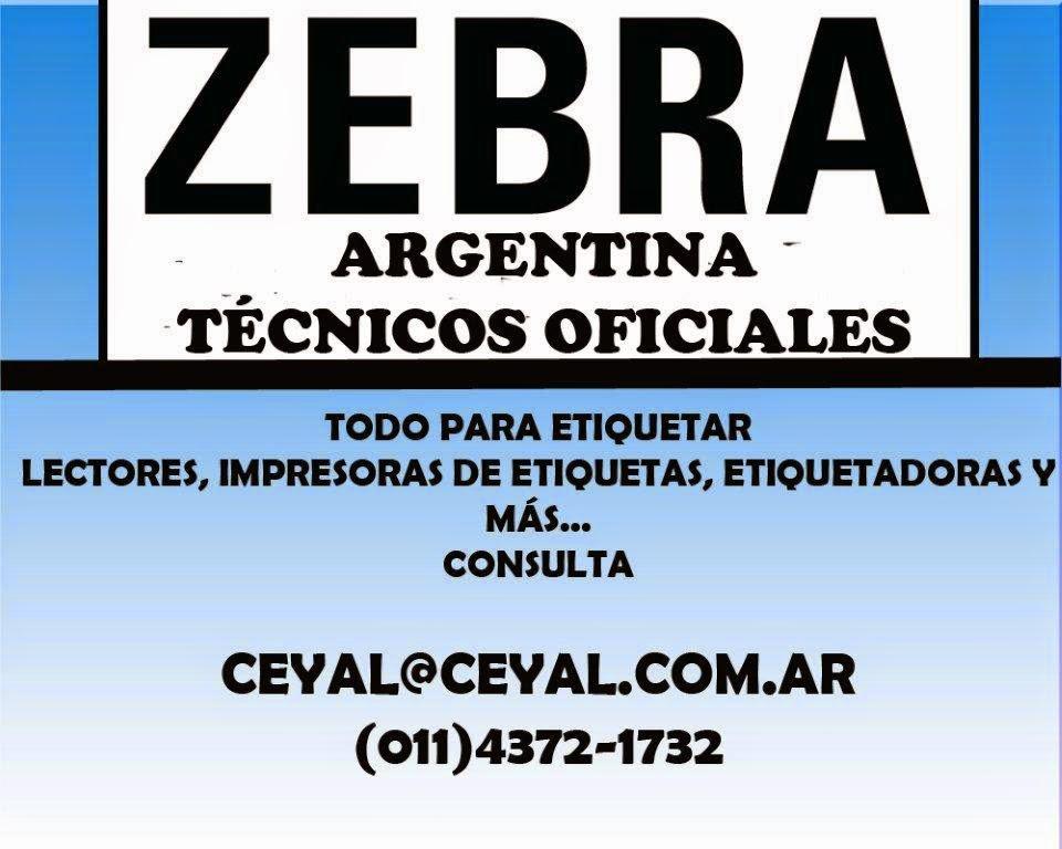 impresoras zebra etiquetas adhesivas La Rioja Mendoza Santiago del Estero