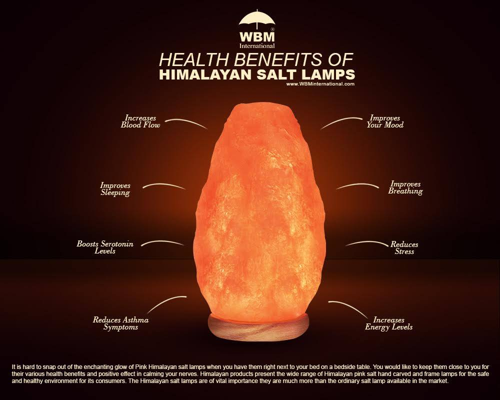 Salt lamps health benefits - Salt Lamps Produce Destructive Ions That Cleanse Air Naturally Which Are Very Important In Our Healthy Life