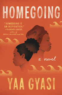 Book cover for Yaa Gyasi's Homegoing in the South Manchester, Chorlton, and Didsbury book group