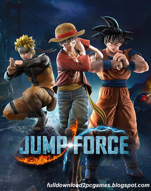 This Is A Fantastic New Crossover Fighting Video Game Developed By Spike Chunsoft And Pub Jump Force Free Download PC Game- CODEX