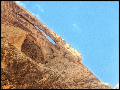 Double Arch in Spirit Arch Canyon San Rafael Swell, Utah