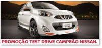 Participar Promoção Nissan 2016 Test Drive Campeão