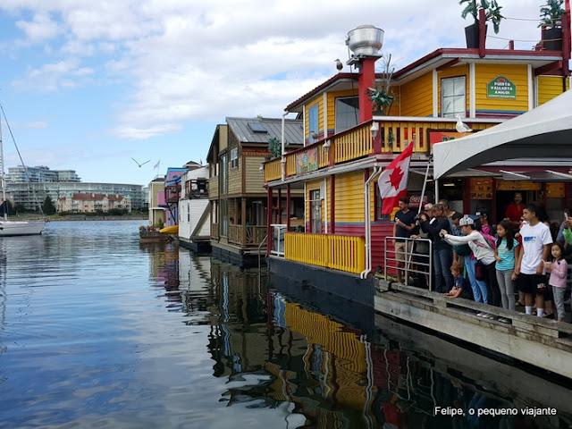 Fisherman´s Wharf Victoria Canada