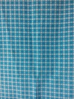 baju pakaian seragam batik identitas seragam lengan panjang baju batik pakaian batik identitas batik kotak biru dari rakhma konveksi