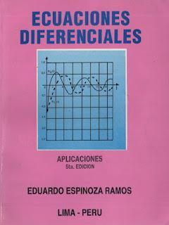 Ecuaciones diferenciales, Aplicaciones – Eduardo Espinoza Ramos