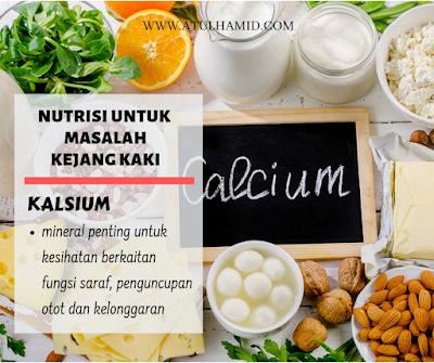 NUTRISI PENTING UNTUK ATASI MASALAH KEJANG KAKI