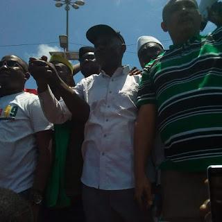 Guinée: Conakry, manifestation contre la hausse du prix du carburant à la pompe par les Forces Sociales de Guinée 2