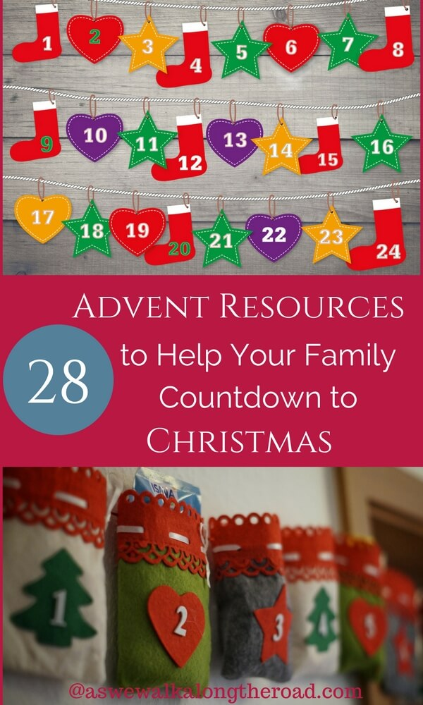 Advent countdown resources