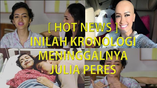 [ HOT NEWS ] Inilah Kronologi Meninggalnya Julia Perez..!!