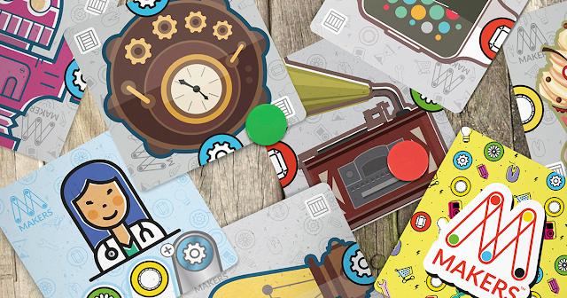 MAKERS juego de mesa DIY culturamaker boardgame cardgame prototipado prototipo