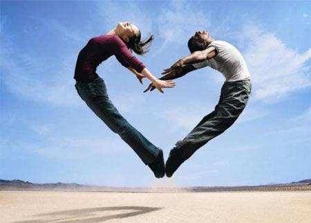 hình ảnh về tình yêu đẹp lãng mạn dễ thương, kết thành trái tim