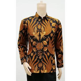 Batik Kemeja Batik Lengan Panjang Garuda