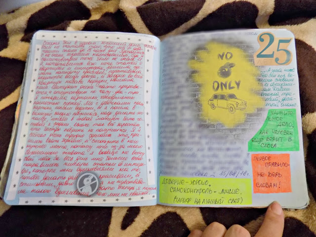 лд, личный дневник, арт странички, смешбук, что писать в личном дневнике