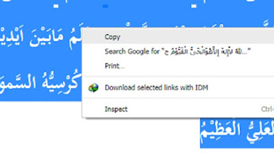 Cara Copy Paste Tulisan Dan Huruf Arab Ke Microsoft Word