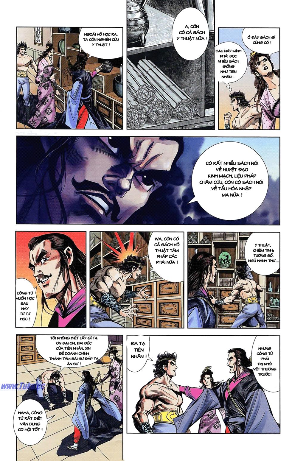 Tần Vương Doanh Chính chapter 14 trang 25