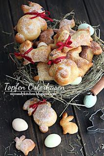 Великденски зайчета с извара/ Topfen Osterhasen