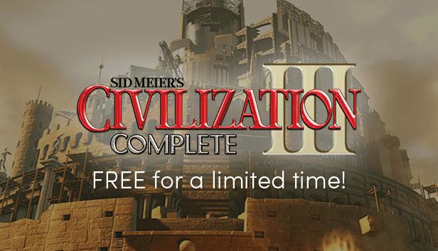 Civilization 3 - Εντελώς δωρεάν για λίγες ώρες