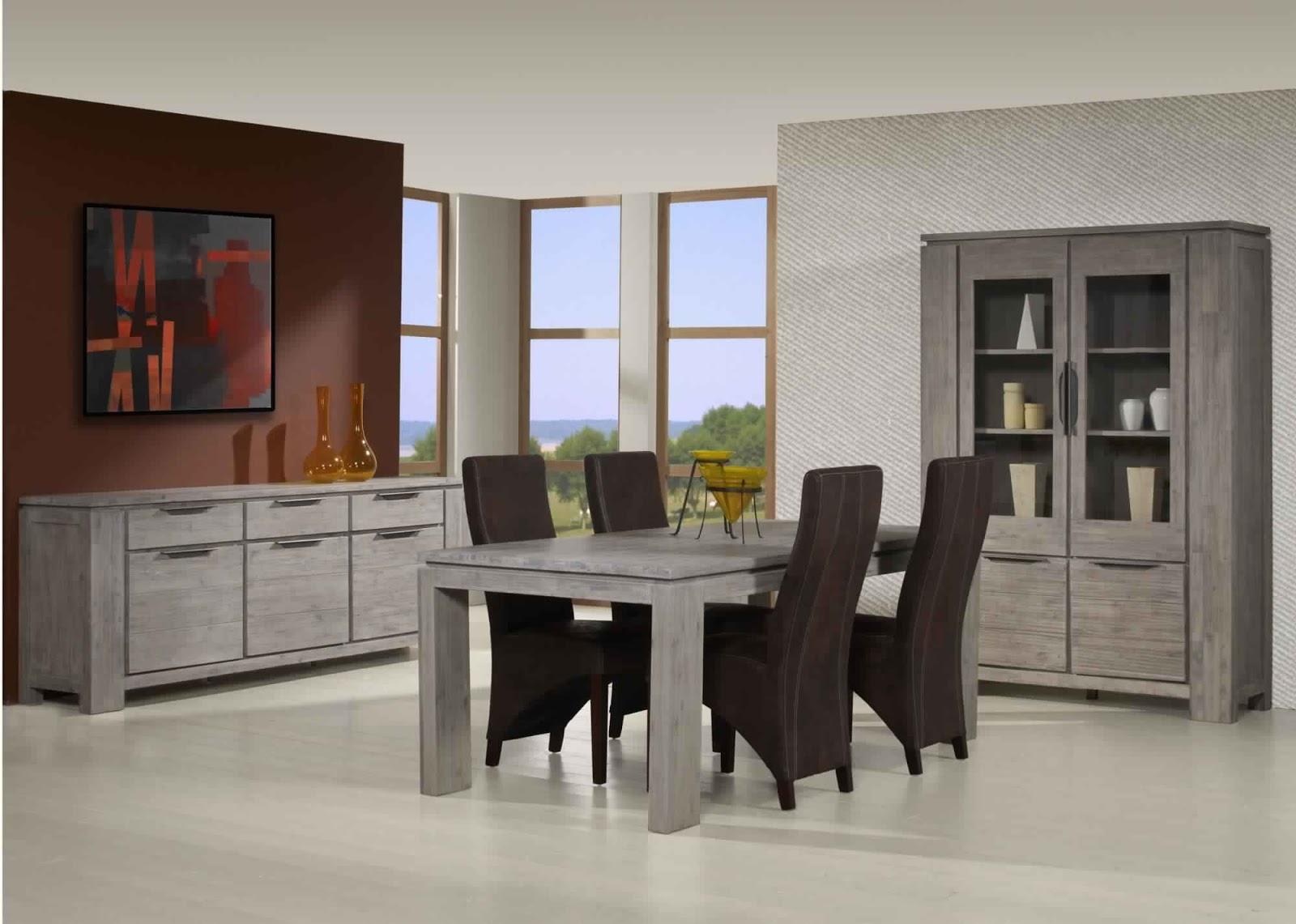 salle a manger moderne alinea. Black Bedroom Furniture Sets. Home Design Ideas