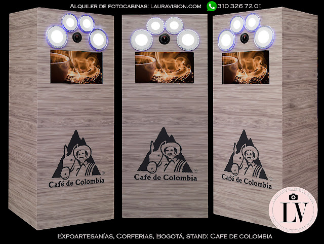 Photobooth para eventos, congresos, seminarios y ferias. Cartagena.