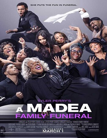A Madea Family Funeral (2019) English 480p HDRip x264 300MB ESubs Movie Download
