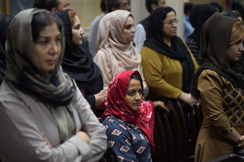 'Where is my name?' Afghan women seek right to identity