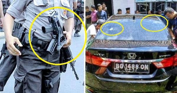 Polisi: Kami Bermaksud Hendak Menembak Ban Mobil