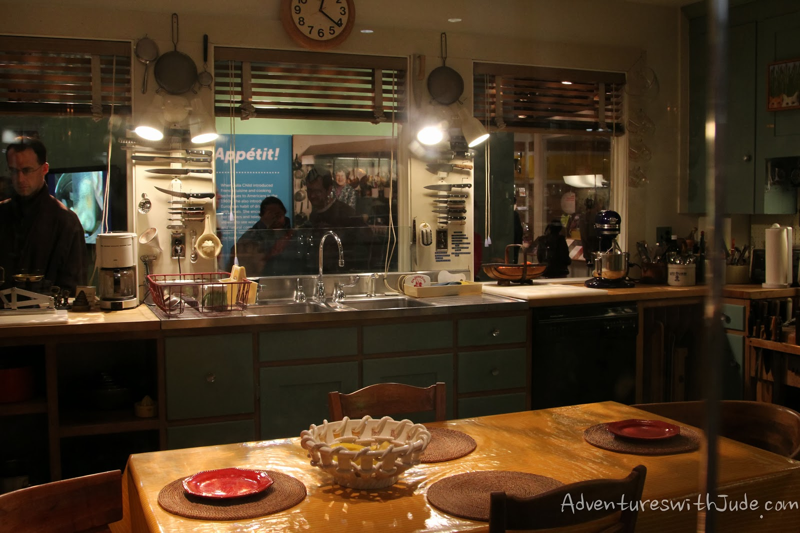 Julia Child's Kitchen recreated at the Smithsonian/American History